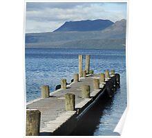 Lake Tarawera Poster