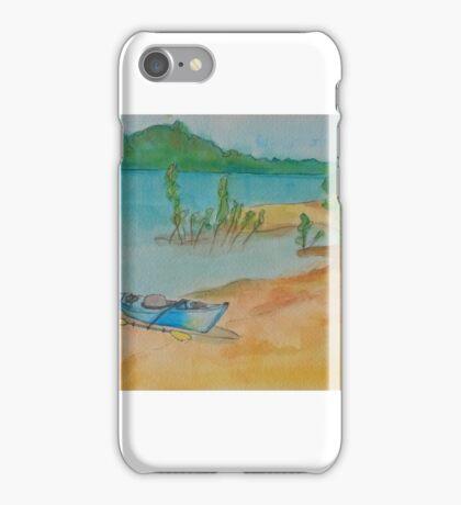 Beach at Lisbon Bottoms iPhone Case/Skin