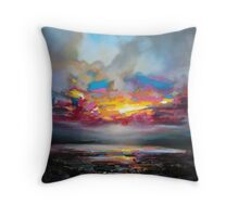 Primary Sky Throw Pillow