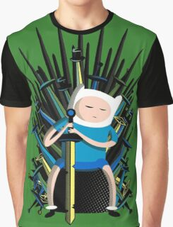 Finn on Throne Graphic T-Shirt
