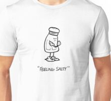Feeling Salty (black lined) Unisex T-Shirt