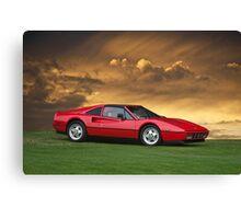 1987 Ferrari 328 GTS Canvas Print