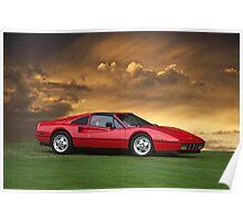 1987 Ferrari 328 GTS Poster
