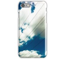 Lines and The Blue Sky [ iPad / iPod / iPhone Case ] iPhone Case/Skin