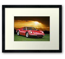1973 Ferrari Dino 246 GTS Framed Print