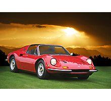 1973 Ferrari Dino 246 GTS Photographic Print
