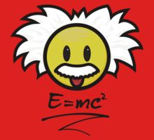 Smiley Einstein - E = mc² Kids Clothes