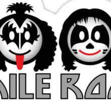 Smile Rock - Smiley Icons Sticker