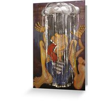 Misery Quincher Greeting Card