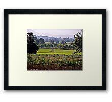TRADITIONALLY THAILAND Framed Print