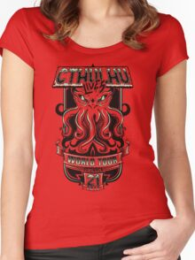 Cthulhu Lives Women's Fitted Scoop T-Shirt