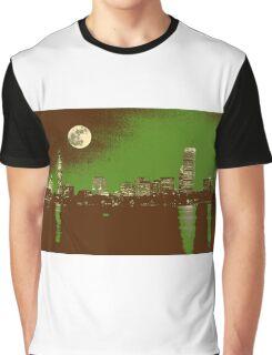 boston skyline Graphic T-Shirt