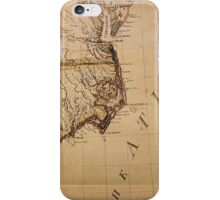 Cartography / declination iPhone Case/Skin