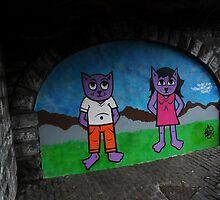 Cavern Cats by illman