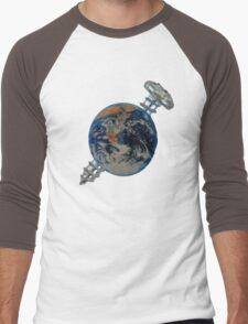 screw the world 1 Men's Baseball ¾ T-Shirt