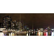 New Quay, Docklands Panorama Photographic Print