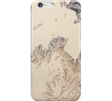 Cartography / rivers iPhone Case/Skin