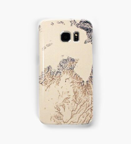 Cartography / rivers Samsung Galaxy Case/Skin