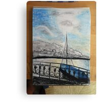Lake Zurich Canvas Print