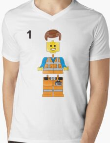 The Lego Movie Mens V-Neck T-Shirt