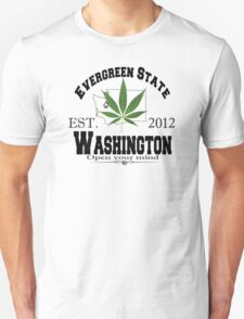 """Evergreen State"" Unisex T-Shirt"