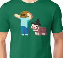 Minecraft Halloween Unisex T-Shirt