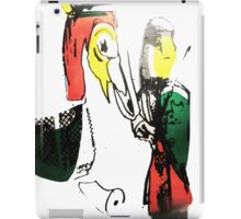 Knight and His Horse  iPad Case/Skin