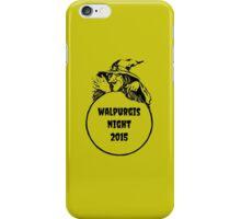 The Walpurgis Night Shirt iPhone Case/Skin