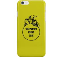 The Walpurgis Night Shirt iPhone Case/Skin