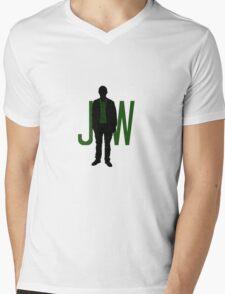 This is my friend, John Watson. Friend? Colleague. Mens V-Neck T-Shirt