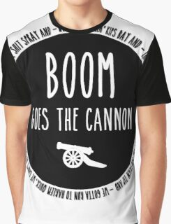 Boom Goes the Cannon Graphic T-Shirt