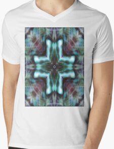 Snowflake  Mandala Mens V-Neck T-Shirt