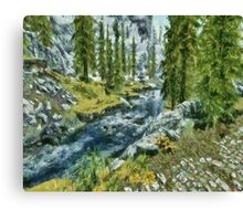 Off The Beaten Path Canvas Print