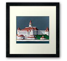 Grand Floridian Resort Framed Print
