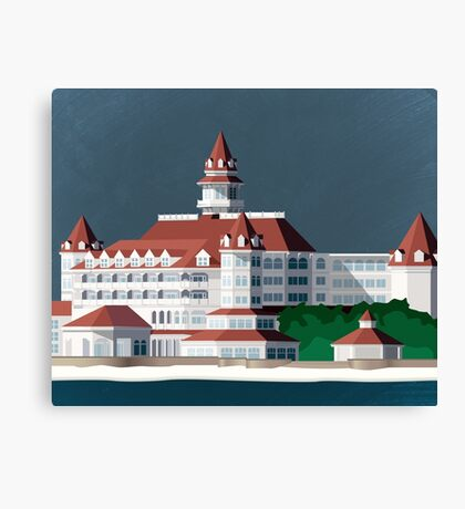 Grand Floridian Resort Canvas Print
