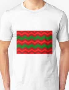 Chevron Christmas Cushion 7  Unisex T-Shirt