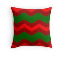 Chevron Christmas Cushion 7  Throw Pillow