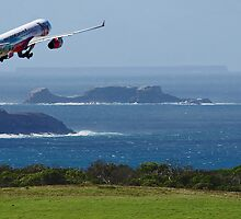 Flight Over Sea by hurky