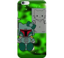SOLO and FETT KITTY 2.0 iPhone Case/Skin