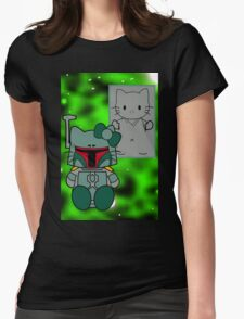 SOLO and FETT KITTY 2.0 Womens Fitted T-Shirt