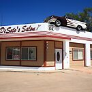 Route 66 - DeSoto's Salon by Frank Romeo