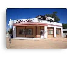 Route 66 - DeSoto's Salon Canvas Print