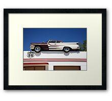 Route 66 - DeSoto's Salon Framed Print
