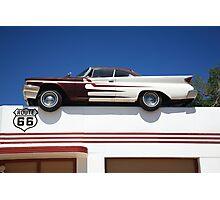 Route 66 - DeSoto's Salon Photographic Print