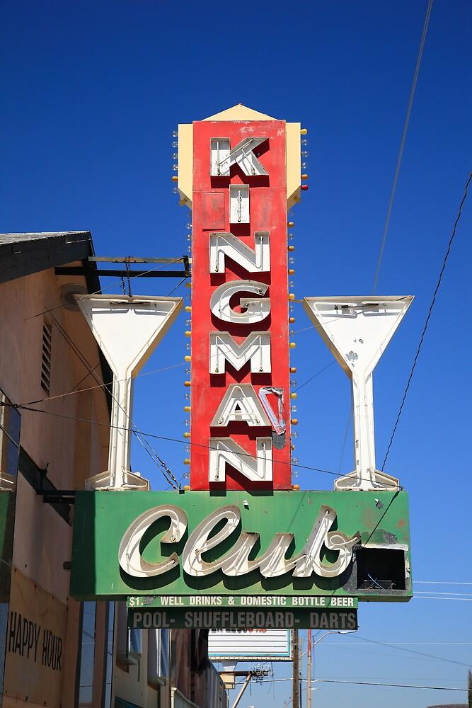 Route 66 - Kingman Club by Frank Romeo