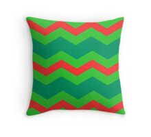 Chevron Christmas Cushion 8 Throw Pillow
