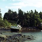 Low Tide, Jonesport, Maine by wolftinz