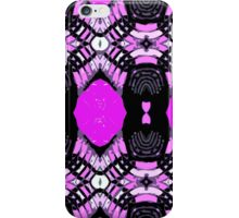 Shades of purple and lavender and grey. iPhone Case/Skin