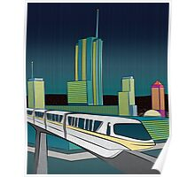 Progress City - MonoRail Poster