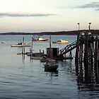 Sunset, Jonesport Harbor, Maine by wolftinz